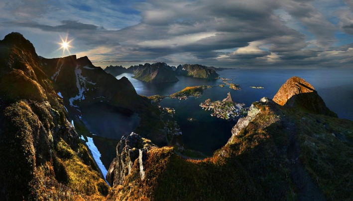 Sunrise-over-Lofoten-Norway